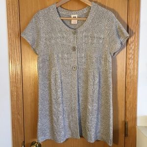 Short-Sleeved Cardigan
